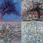De boom van Mondriaan