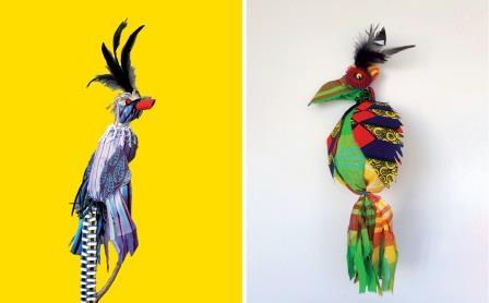 Paradijsvogels uit het Surinaamse regenwoud